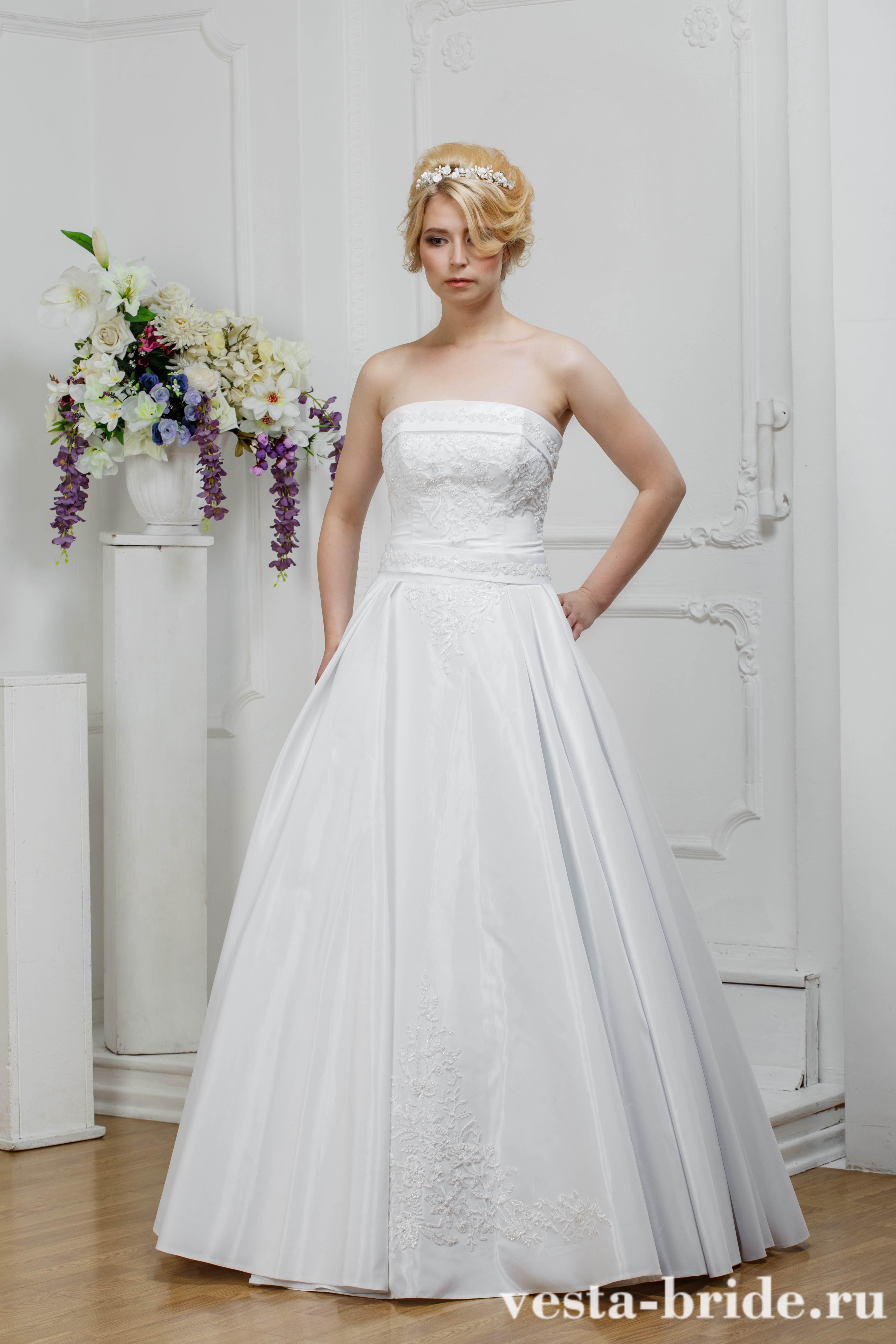 539f93141b51acd Свадебное платье А-силуэта Свадебное платье Арт. 110T: качественные ...