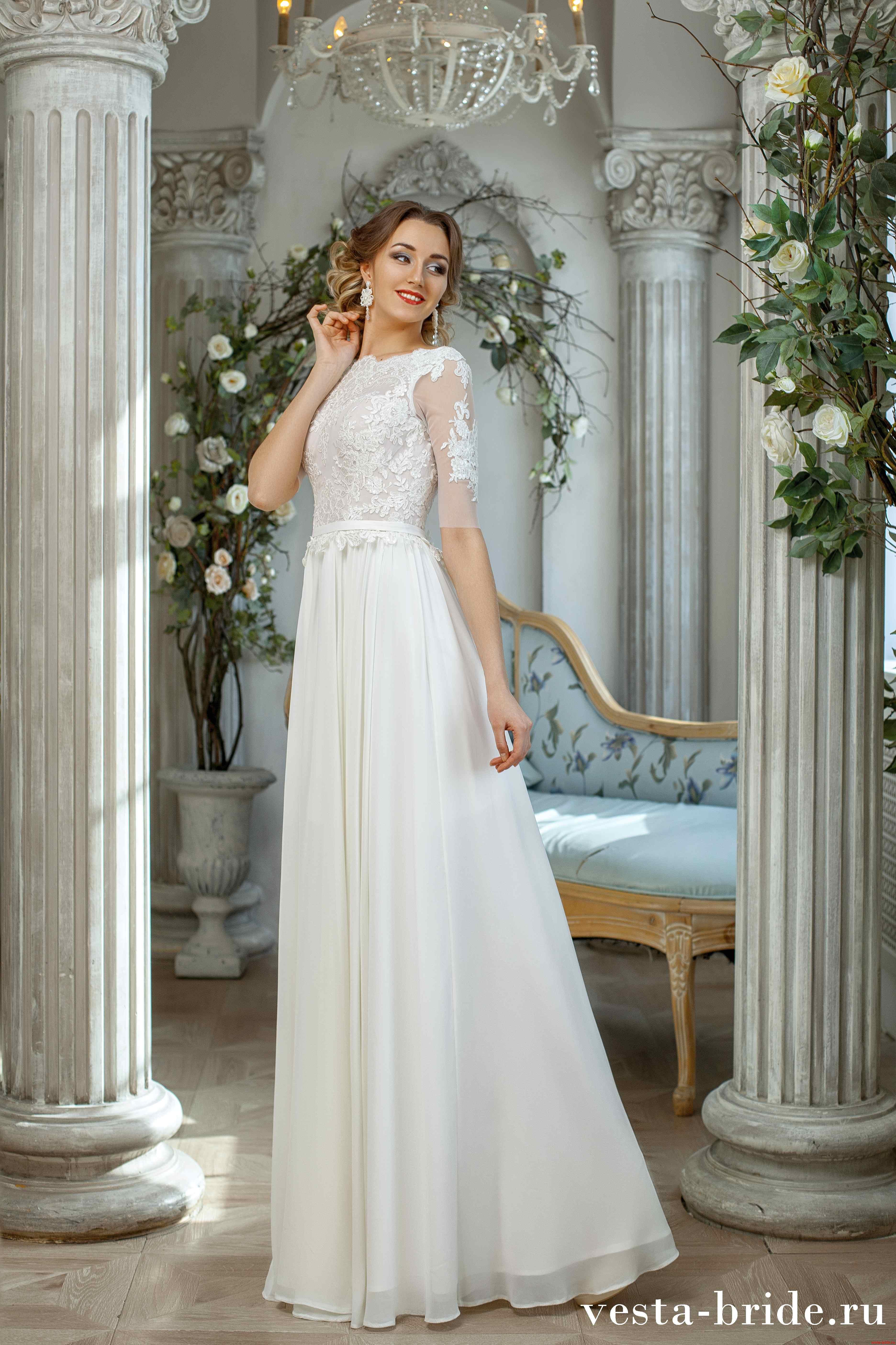 7ba5848a3c8 Свадебные платья с рукавами в Санкт-Петербурге  каталог с фото ...