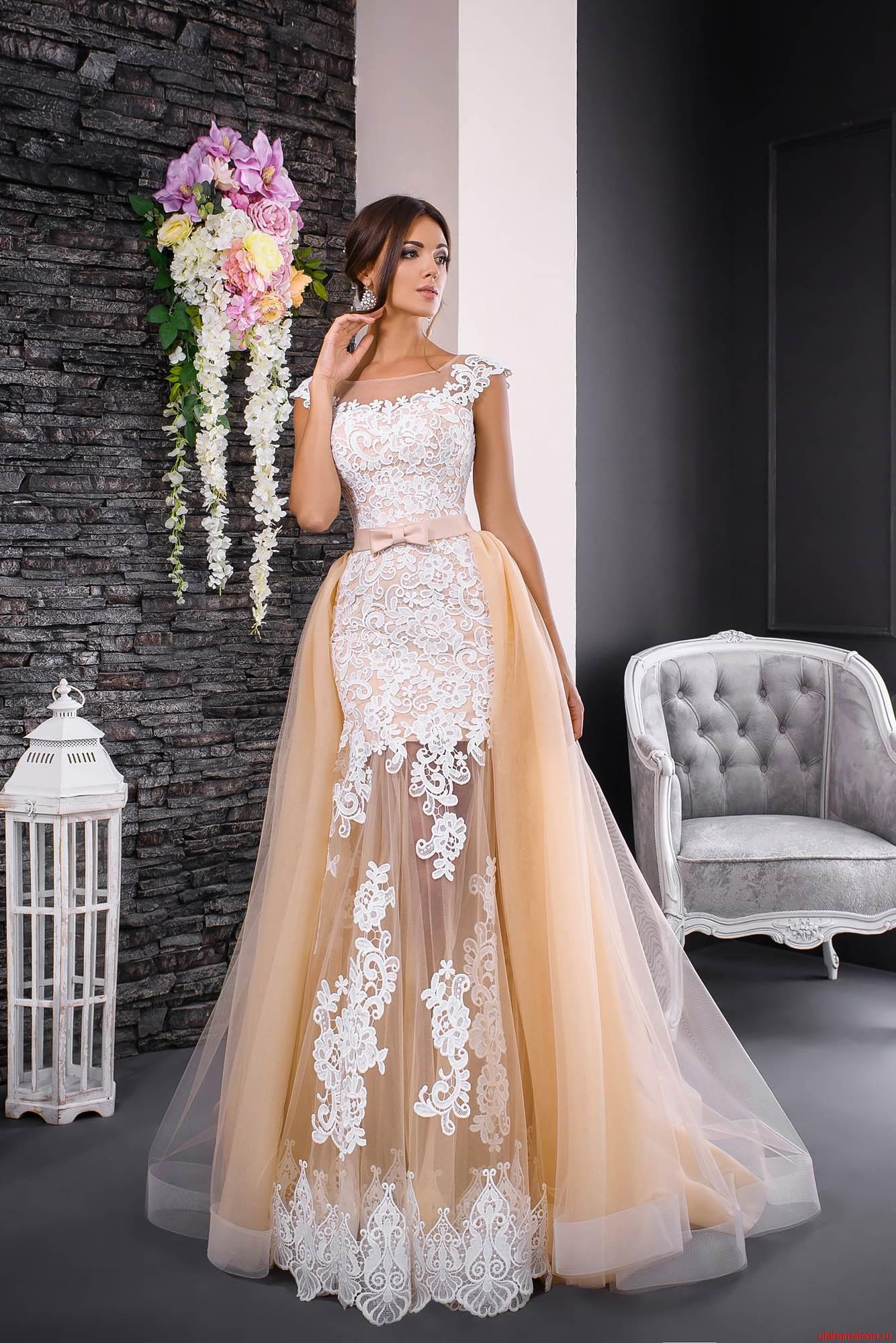 4f849ca9969a Закрытое свадебное платье трансформер M-18  европейское качество по ...