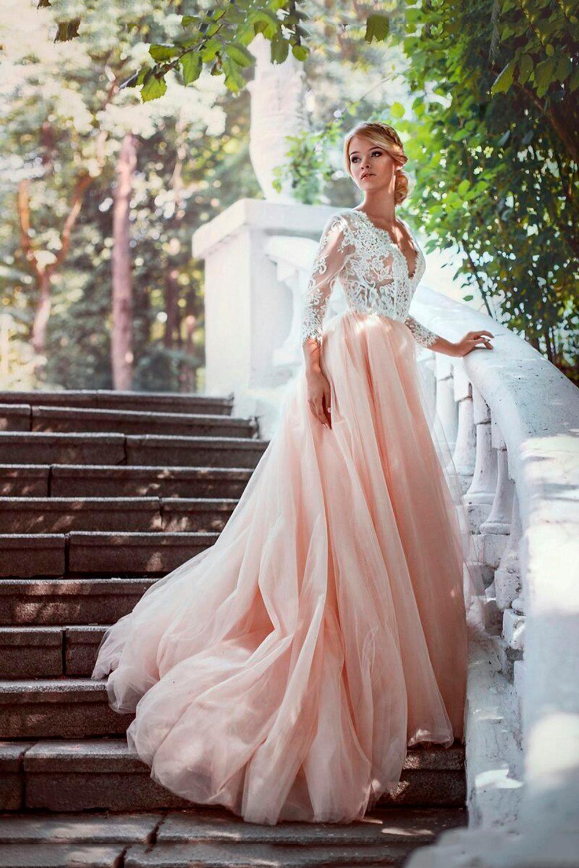 0c90a45264bc Закрытое свадебное платье А-силуэта Розель  европейское качество по ...