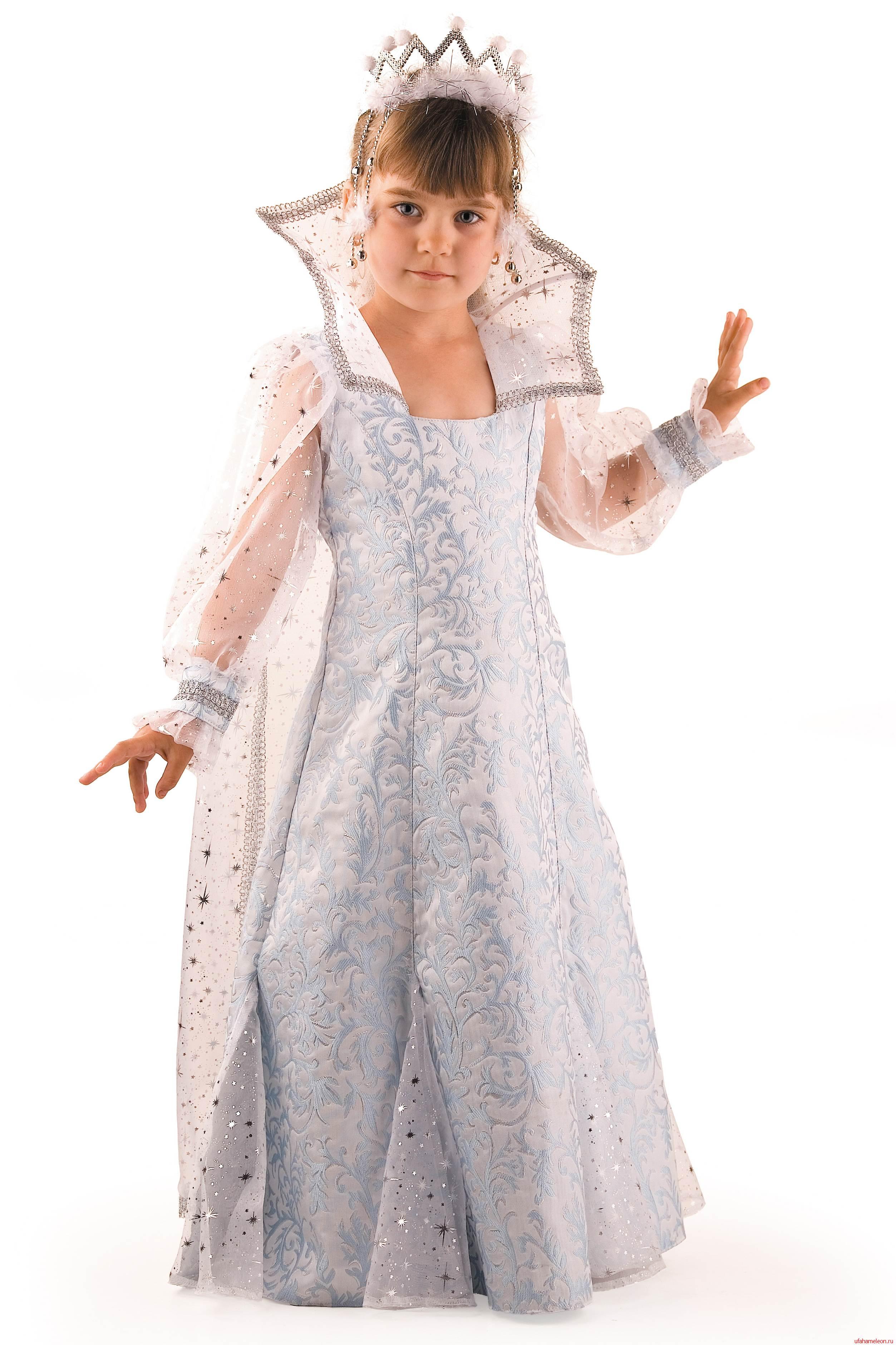 Детские костюмы на новый год королева